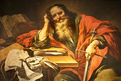 Saint Paul the Apostle of Jesus the Christ.