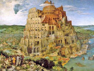 "The tower of Babylon was the temple of Nimrod. Its membership were the ""clay"" bricks that supported its construction."